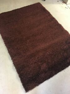 Chocolate brown large rug Hillarys Joondalup Area Preview