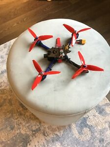 Bfight 210 quadcopter drone with Spektrum receiver and telemetry