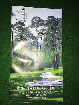 Spectator Guide to the Auugusta National Golf Club April 4-10, 2005
