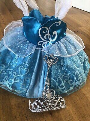 Build a Bear Disney Princess Cinderella Dress Up Costume Tiara Wand