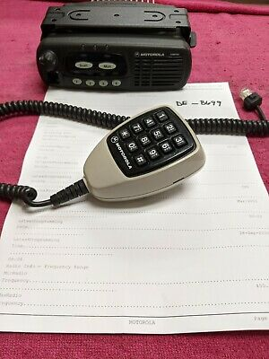 Motorola Cdm750 Cdm 750 Aam25skc9aa1an 450-512 Mhz Uhf De-b699