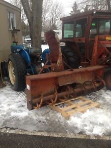 7' George White 3 point Hitch snowblower