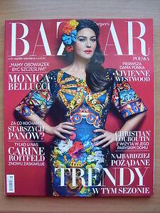 MONICA BELLUCCI on front cover HARPER'S BAZAAR Poland, May 2013, 5/2013 - Czestochowa, Polska - MONICA BELLUCCI on front cover HARPER'S BAZAAR Poland, May 2013, 5/2013 - Czestochowa, Polska