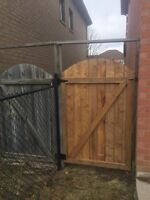 We replace broken fence posts!! Free quotes , Fences&repairs