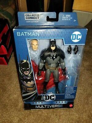 "DC Multiverse Lex Luthor Series Gaslight BATMAN 6"" FIGURE NIB"