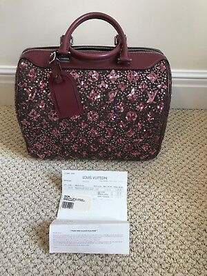 Authentic Louis Vuitton Special Edition Sequined Sunshine Express Speedy 30 Bag