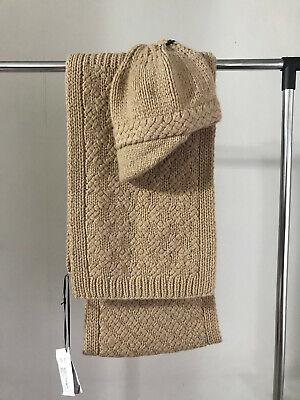 Iris Von Arnim Hat and Scarf Set 100% Cashmere