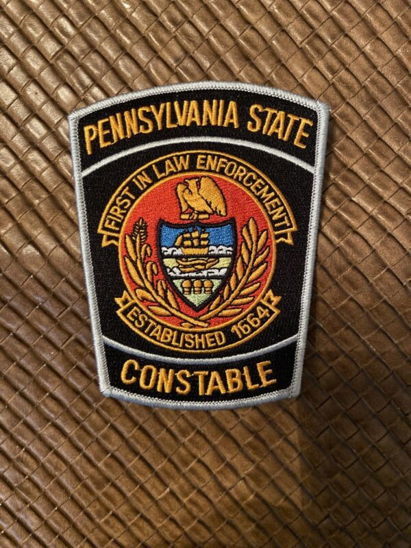 Pennsylvania State Constable Patch