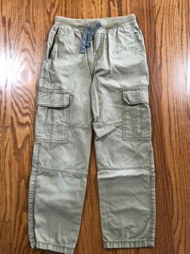 Carters Boys Tan Khaki Cargo Pants Size 8 GUC