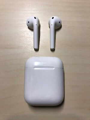 Apple AirPods w/ Charging Case (1st Generation) MMEF2AM/A
