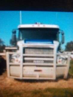 Iveco powerstar isx p/mover habe tipper body aswell Springwood Logan Area Preview