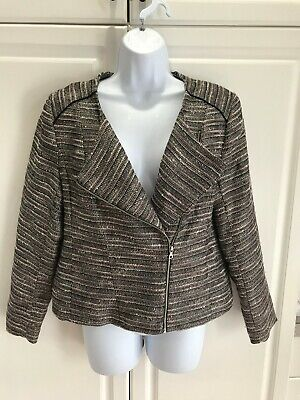 "Pre-Owned H&M Blazer Size 12 Waist Length 36""W,  Size 2 Plum Color 28""W"