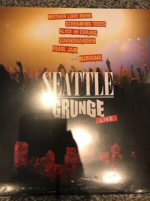 Seattle Grunge: Live  vinyl lp / NIRVANA PEARL JAM SOUNDGARDEN -  NEW & SEALED