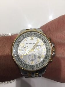 Men's Michael Kors 2 Toned Watch