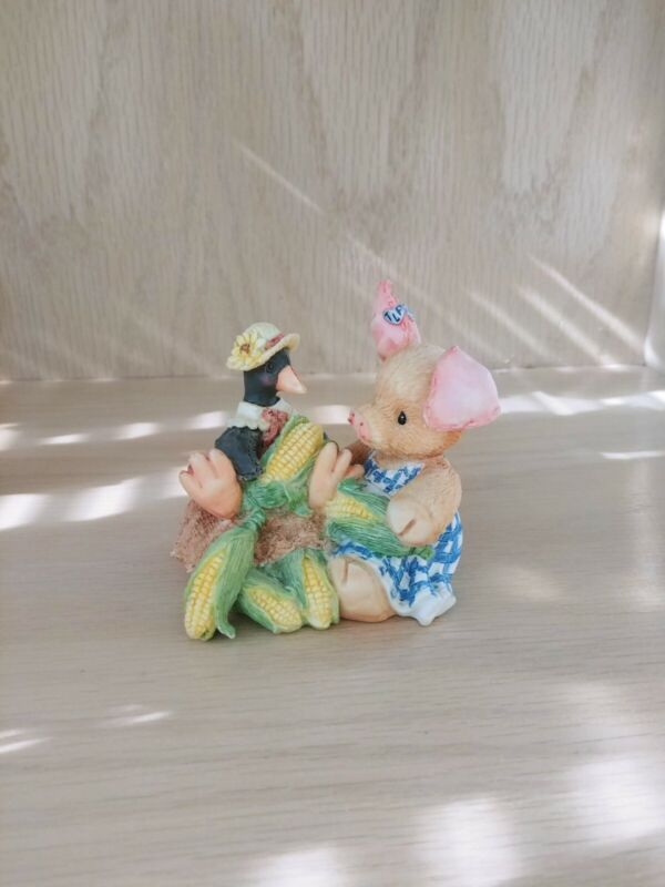 "This Little Piggy Figurine ""Nothin"
