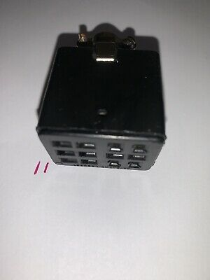 Cinch Jones 12 Pin Female Power Socket For Kenwood Yaesu Drake And Other New