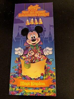 Disney World Mickey's Not So Scary Halloween Party MNSSHP 2018 Disney Park Map](Disney World Mickey Mouse Halloween Party)