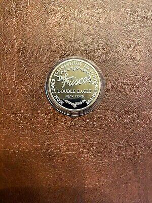 Rare Del Frisco's .999 Pure Silver Double Eagle Coin - New York