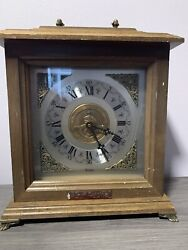 Davidson College Collectible Bulova Tabletop Clock