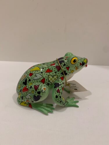 "WESTLAND GIFTWARE FANCIFUL FROGS "" HORNY TOAD"" FIGURINE"