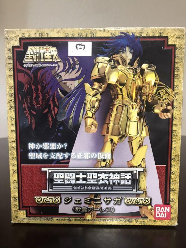 Saint Seiya Myth Gold Cloth Gemini Saga Grand Pope Ares Action Figure Bandai