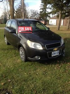 2009 Chevy Aveo 5 speed