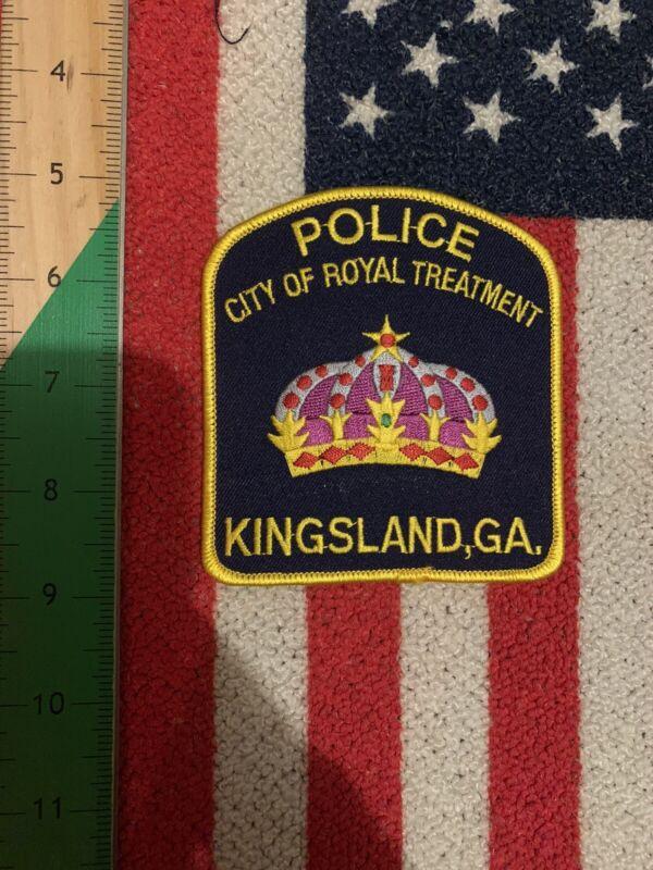Kingsland, Georgia GA Police Patch