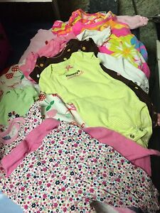 Baby girl clothing 0-12 mos