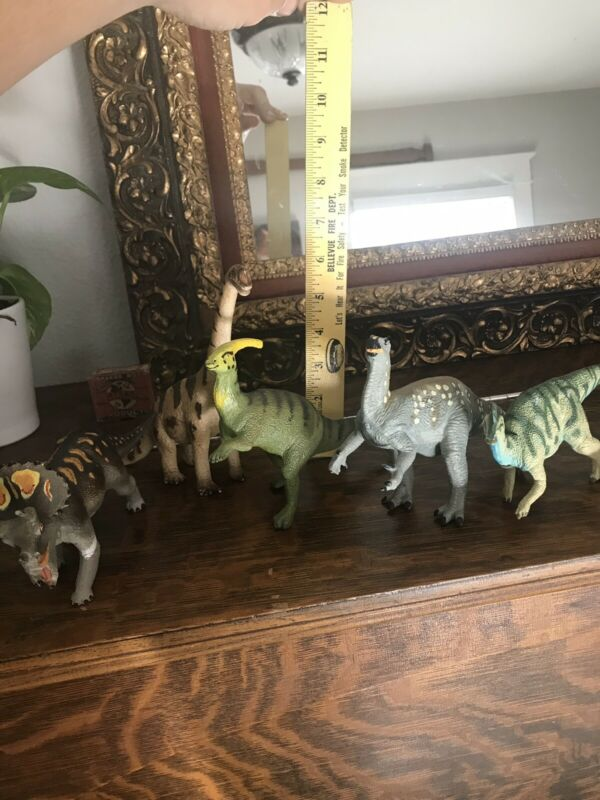 Lot Of Safari Carnegie Collection And 1 Schliech Dinosaur Figs
