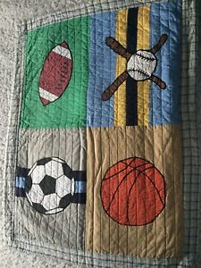 Sports Themed Double Quilt Set