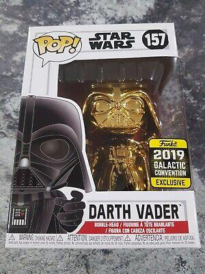 Star Wars Darth Vader #157 Galactic Convention Exclusive Pop vinyl +Protector