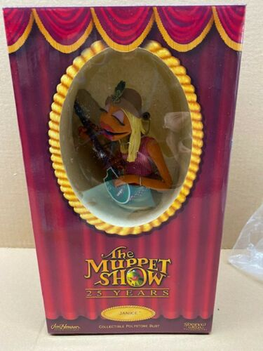 THE MUPPETS - SIDESHOW - 25th ANNIVERSARY BUST - Janice