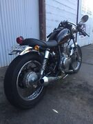 1996 Suzuki GN300 cafe racer LAMS Williamstown Barossa Area Preview