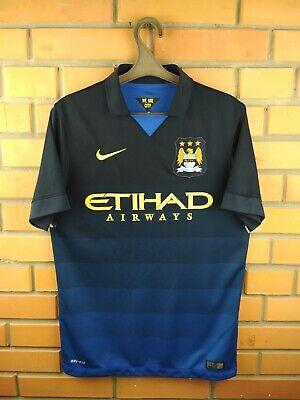 2bed576ff Manchester City jersey small 2014 2015 away shirt soccer football Nike