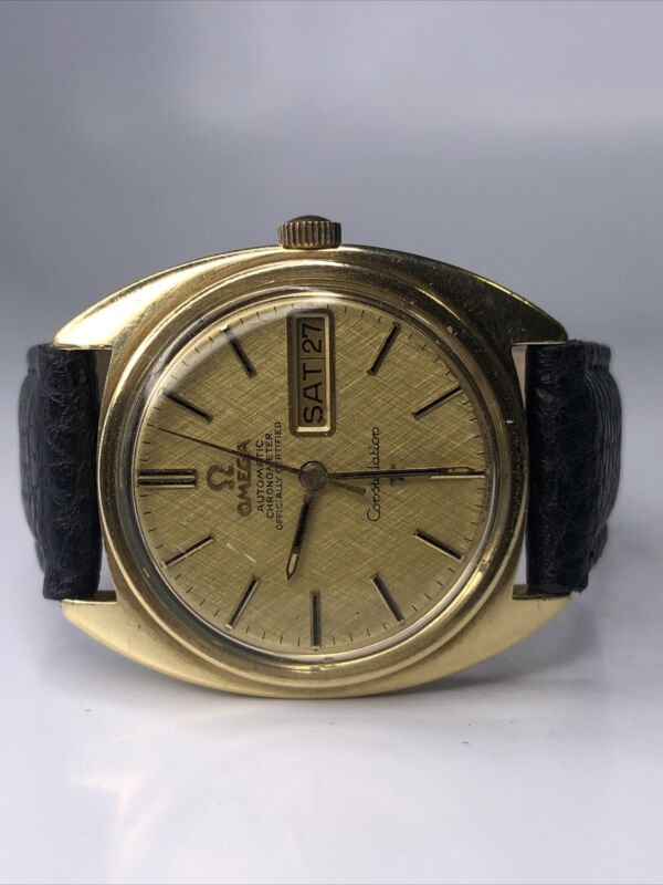OMEGA CONSTELLATION WATCH AUTOMATIC 168.019 DAY DATE CAL.751 MENS 35mm