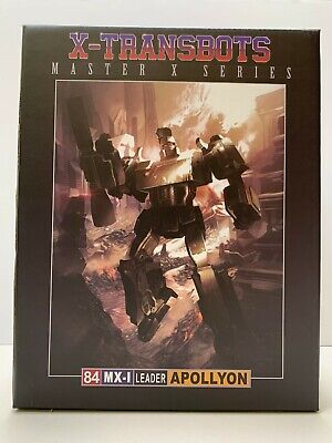 X-TRANSBOTS APOLLYON Masterpiece scale 3rd party (Megatron) transformers MISB