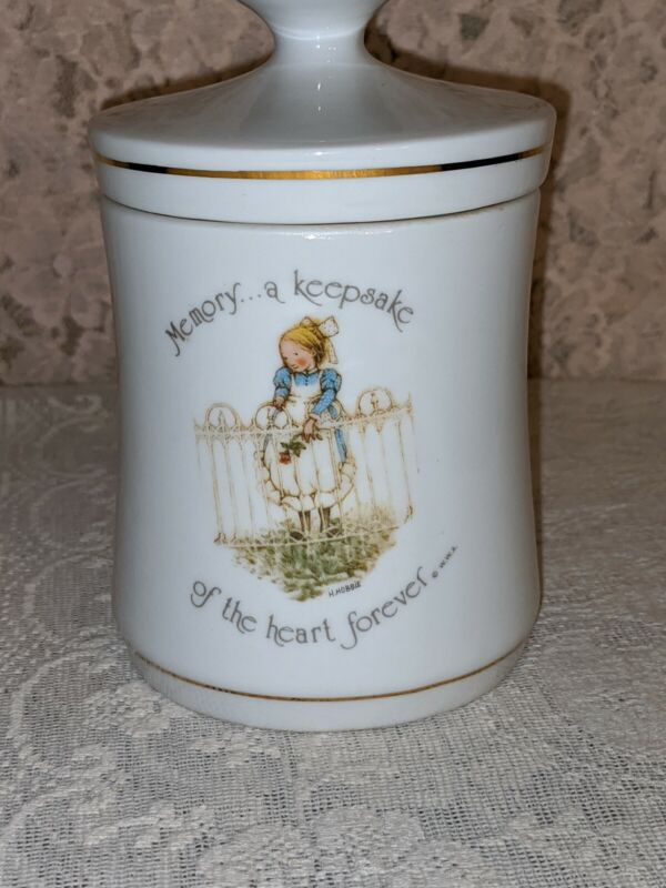 Holly Hobbie Apothecary Jar Canister