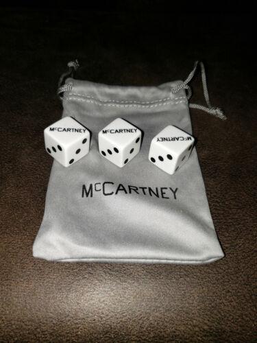 McCartney III Promotional Dice - Plus Bag & Packaging - ULTRA RARE!! ⚂