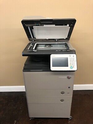 Used Canon Imagerunner Advance 400if Printer - Great Condition - 2 Trayscabinet
