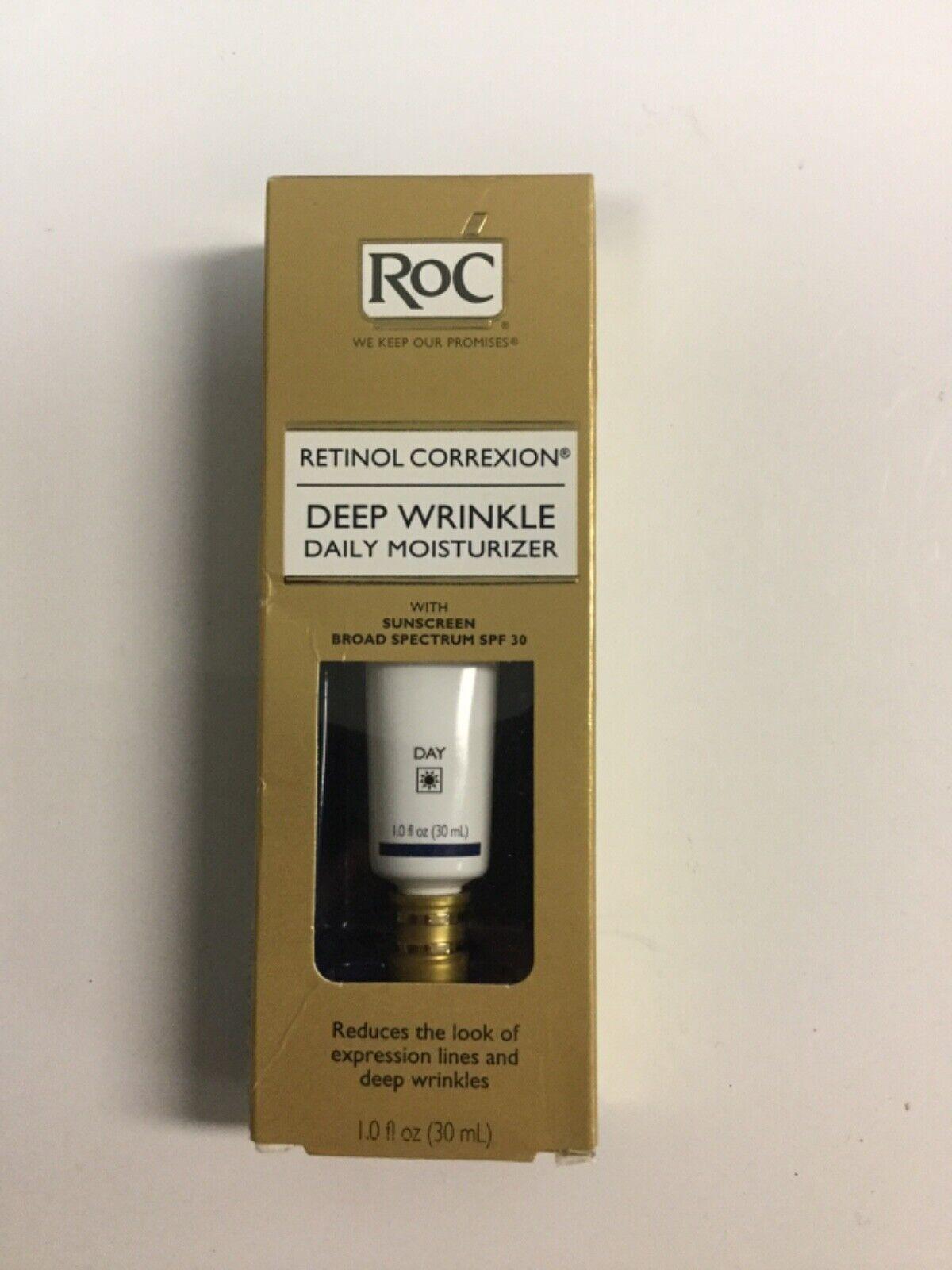 RoC Retinol Correxion Deep Wrinkle Daily Moisturizer With SP