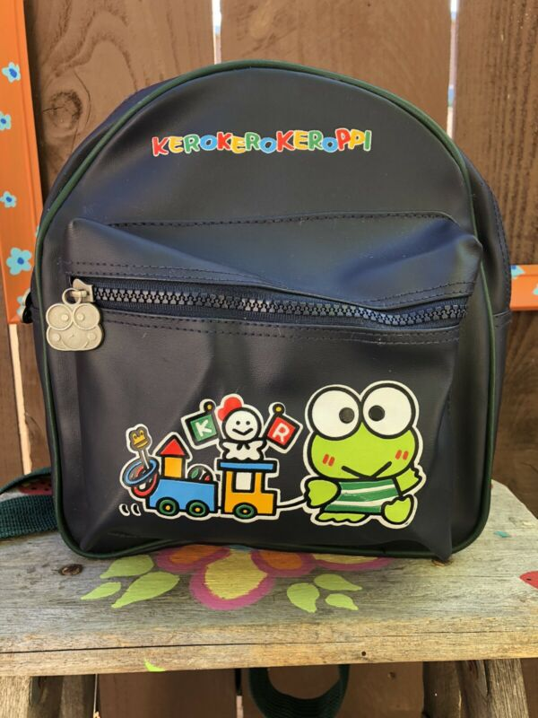 Vintage Sanrio Keroppi Mini Backpack 1997