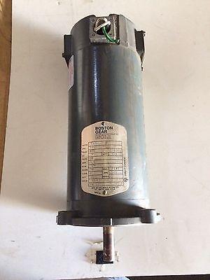 Boston Gear 90v Dc 12hp Motor Pm950at-b 56c 1750 Rpm Tenv