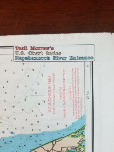 Teall Morrow's U.S. Chart Series South/Central Chesapeake Rapahannock River Entr