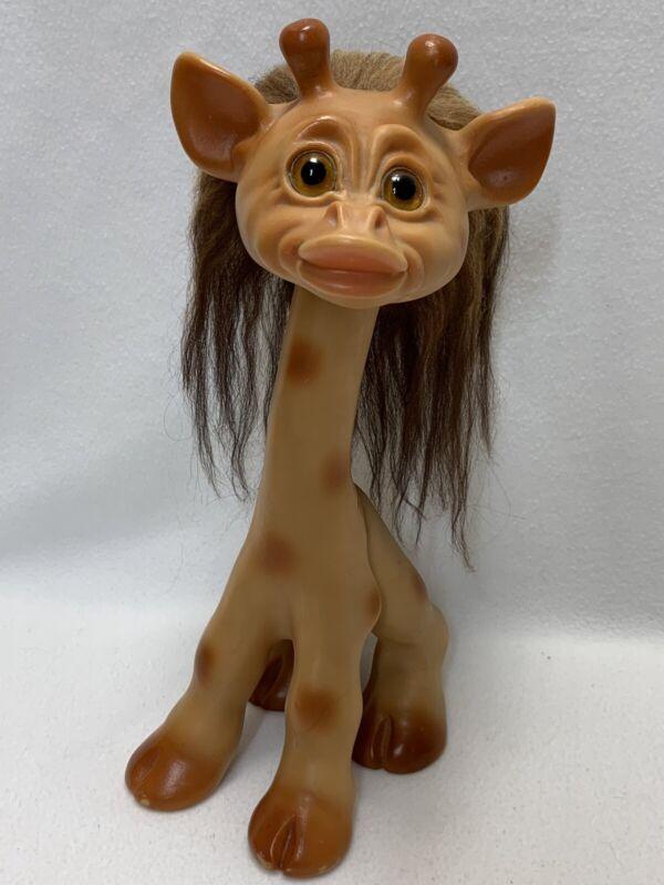 Vintage DAM Troll GIRAFFE Unmarked