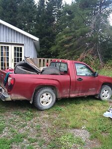2004 canyon regular cab short box 2x4