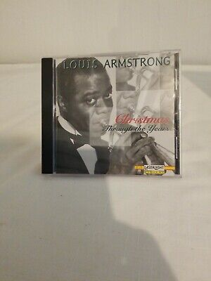 Louis Armstrong Christmas CD Through the Years 1996 Dixieland Jazz Holiday Music ()