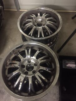 Mag wheels suit Holden Captiva Narangba Caboolture Area Preview