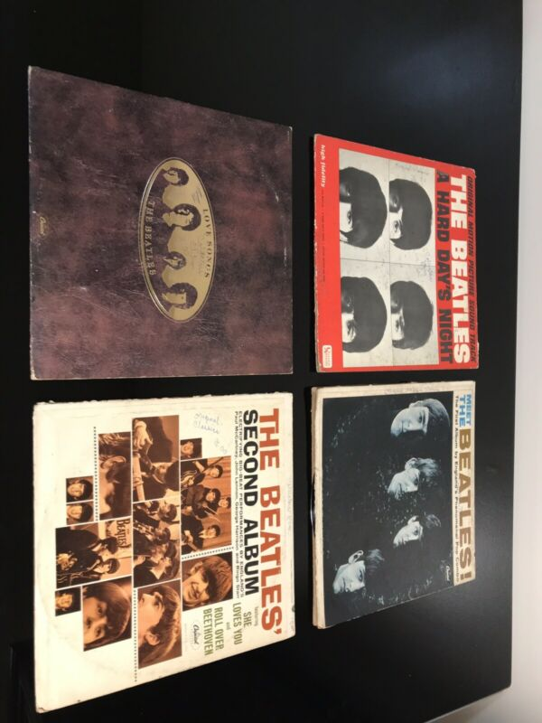 The Beatles ( Four Albums Sold Together)