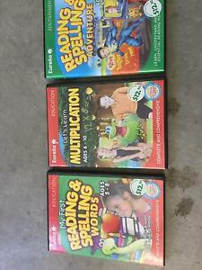 Educational DVD's x 3 Chelmer Brisbane South West Preview
