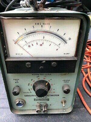 Boonton 91da Sensitive Voltmeter